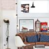 Stylizacja tygodnia: sofa chesterfield i industrialne dodatki, czyli piątkowy cykl: get the look!