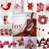 Elegancko i nastrojowo – świąteczne inspiracje w barwach złota, bieli i czerwieni