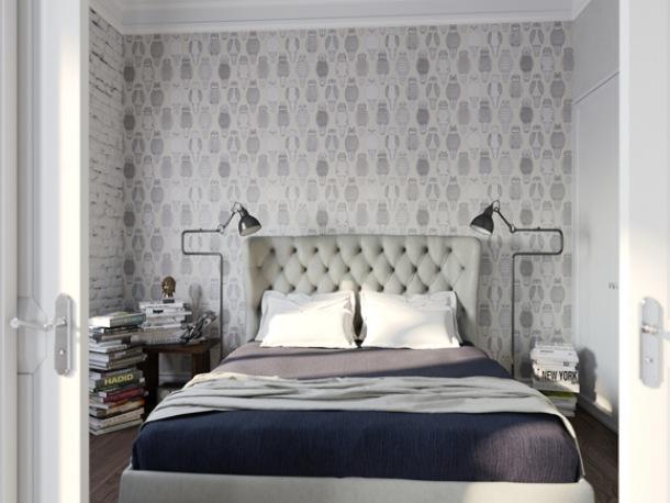 Jak Zaaranżować ścianę Za łóżkiem W Sypialni Hyde Park