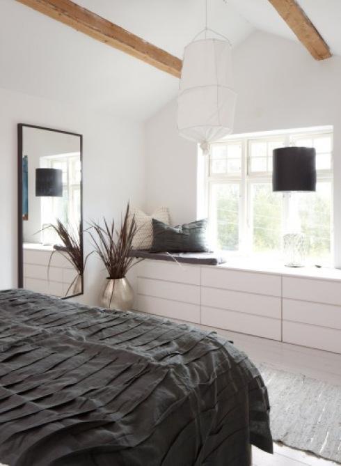 Lampion w sypialni zdj cie w serwisie 2137 - Ikea chambre malm ...