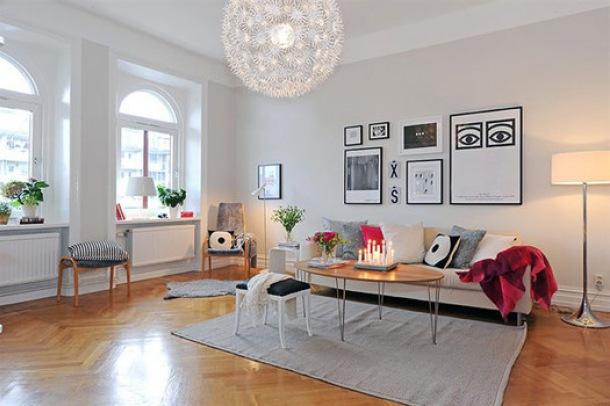 jak urzadzic salon w stylu skandynawskim