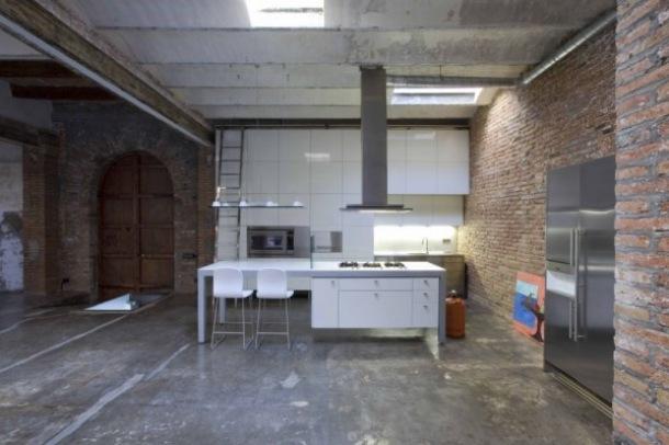 Ceg a i beton we wn trzu zdj cie w serwisie for Escoles de disseny d interiors a barcelona