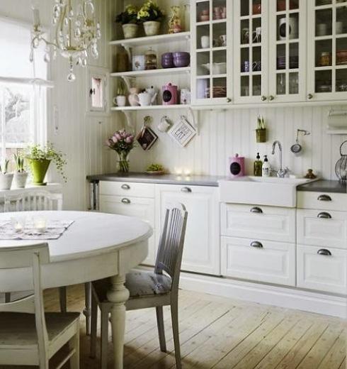wiejska kuchnia w skandynawskim stylu  zdjęcie w serwisie Lovingit pl (18310) -> Kuchnia Wiejska Inspiracje