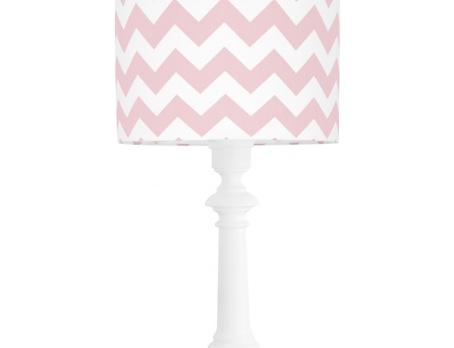 Lampa stojąca w paski