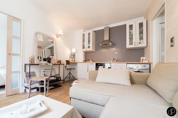 Woonkamer inrichten woonkamer rechthoekig : Zdju0119cie: aranu017cacja mau0142ego mieszkania w otwartym widoku salonu z ...