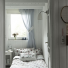 mala sypialnia z wiejskim klimatem