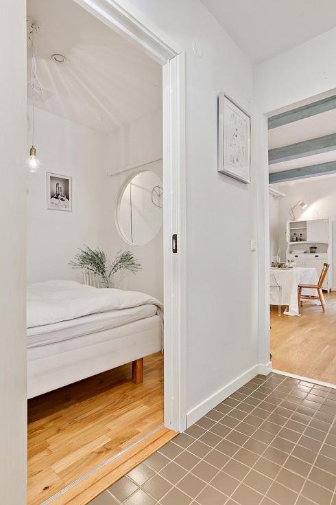 jak urządzić małą sypialnię bez okna ?  zdjęcie w   -> Mala Kuchnia Bez Okna Aranżacje